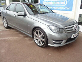 Mercedes-Benz C250 2.1CDI Blue F 7G-Tronic 2011 CDI Sport £6210 added extras