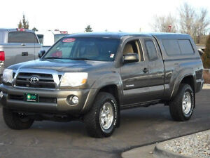"2005-2015 77"" Tacoma Topper in Charcoal Grey"