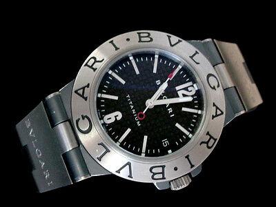 Bvlgari Diagono Titanium Men's Date Watch BVLGARI DIAGONO AUTOMATIC WATCH