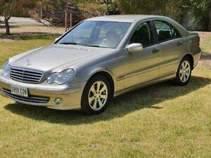2005 Mercedes-Benz C180 W203 Upgrade Kompressor Classic 5 Speed Auto Tipshift Sedan Windsor Gardens Port Adelaide Area Preview