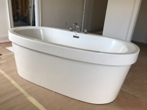 Bathtub and Faucet - free standing