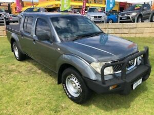 2011 Nissan Navara D40 MY11 RX Grey 6 Speed Manual Cab Chassis Wangara Wanneroo Area Preview