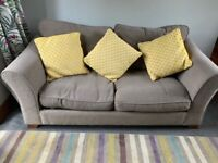 Green/olive/sage coloured sofa bed
