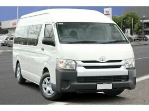 2015 Toyota HiAce KDH223R Commuter High Roof Super LWB French Vanilla 4 Speed Automatic Bus Adelaide CBD Adelaide City Preview
