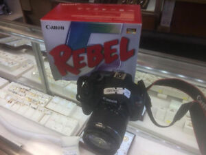 Canon T5 Rebel Open Box for sale !!