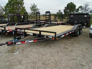 PJ BUGGY HAULER - 5 TON 7 X 20' BED -YOUR LOWEST CANADIAN PRICE London Ontario image 5