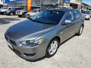 2013 Mitsubishi Lancer CJ MY14 ES Sportback Grey 6 Speed CVT Auto Sequential Hatchback Wangara Wanneroo Area Preview