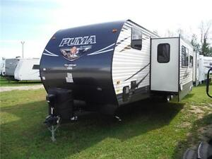 2017 Puma 32FBIS 2 bedroom Travel Trailer with Outside kitchen Stratford Kitchener Area image 2
