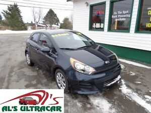 2016 Kia Rio 5 Door Hatchback GDI only $105 bi-weekly all in!