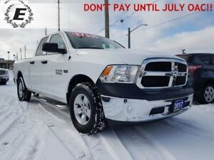2017 Ram 1500 ST with 5.7L HEMI  DON'T PAY UNTIL JULY OAC!!