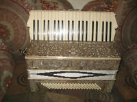 RARE Vintage E Galizi Bro N Y Accordion Antique 1920's