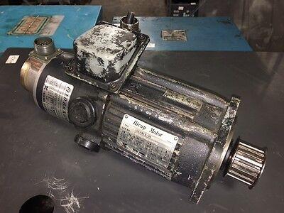 Yaskawa Hicup Servo Motor UGHMED-06GG10F, W/ TFUE-15ZD7 Encoder, Used, WARRANTY