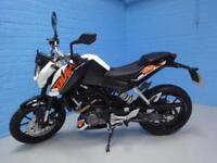 2015 KTM 200 DUKE 13 ONLY 524 MILES PRISTINE BIKE