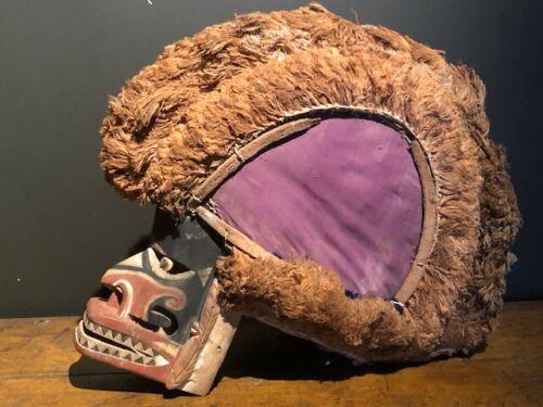 Early 1900 Tatanua Malagan masker from the Bismarck Archipel, Papua New-Guinea
