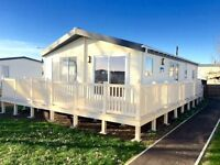 Cheap double glazed Brand new lodge for sale! Sea views, pet friendly, fishing lake. Not caravan