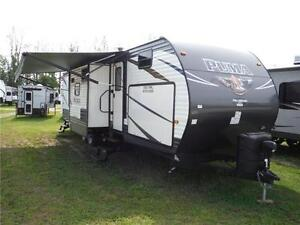 2017 Puma 32FBIS 2 bedroom Travel Trailer with Outside kitchen Stratford Kitchener Area image 1