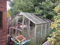 Greenhouse for sale- Aluminium frame