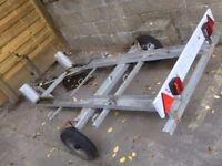Twin Motorbike / Motocross Trailer for Most Bikes (Good Condition)