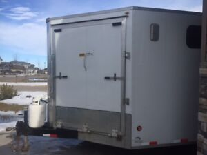 24' covered rec trailer