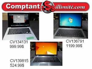 Pour un travail bien fait, nous avons le portable qu'il vous faut chez Comptant illimite.com