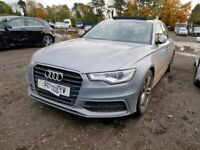 AUDI A6 C7 AVANT 2013 BREAKING SPARES AIRBAG LEATHER SEATS ALLOY DOORS AXLE HUBS CORNERS