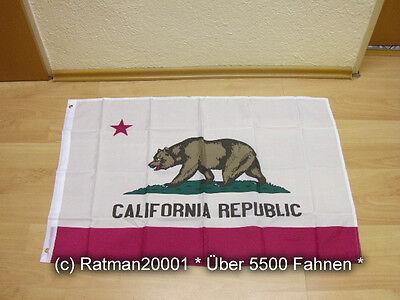 Fahnen Flagge California Kalifornien - 60 x 90 cm