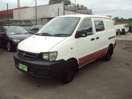 5ff1ebbad7 2003 Toyota Townace KR42R SBV White 5 Speed Manual Blind Van