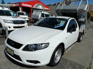 2010 Ford Falcon FG (LPG) White 4 Speed Auto Seq Sportshift Cab Chassis Rockdale Rockdale Area Preview
