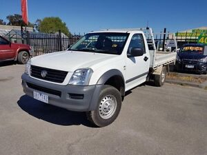2006 Holden Rodeo RA MY06 Upgrade LX White 5 Speed Manual Officer Cardinia Area Preview