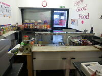 Takeaway/sandwich shop on Gorgie Road, for lease or for sale