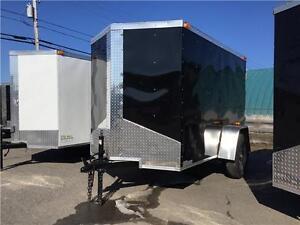 REMORQUE FERMÉ 5X8 PIED enclosed trailer