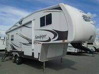 2010 26 ft. Sandpiper Fifth Wheel