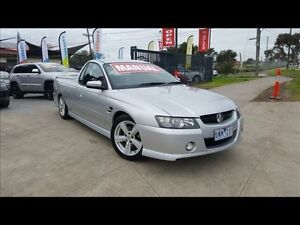 2004 Holden Commodore VZ SS 6 Speed Manual Utility Cairnlea Brimbank Area Preview