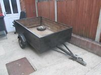6/4 box trailer good condition £80