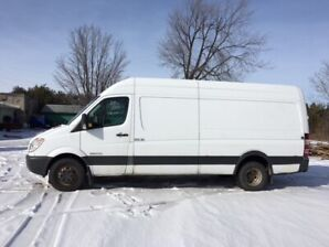 2009 Dodge Sprinter 3500 Dually 170 inch  Diesel Insulated
