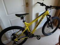 Brand New 2017 Commencal Meta HT AM Origin Mountain Bike - Yellow - 19 inch