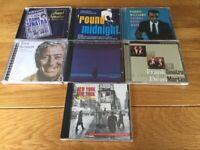 7 Cds – Jazz, Swing style – Frank Sinatra, Nat King Cole, Tony Bennett, Dean Martin etc.
