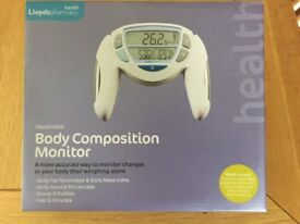 body composition monitor (handheld)