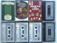CSL 8x MIXED CLASSICAL COMPOSERS HUNDRED BEST TUNES THESE YOU HAVE LOVED PRERECORDED CASSETTE TAPES