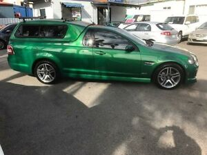 2010 Holden Commodore VE MY10 SV6 Green 6 Speed Manual Utility Sutherland Sutherland Area Preview