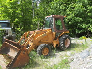 case 580e backhoe 4x4