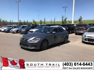 2014 Lexus IS 350 F-SPORT / HEATED LEATHER SEATS / NAV
