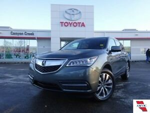 2015 Acura MDX TECH SH-AWD/CLEAN CARFAX/NAVIGATION/1 OWNER/