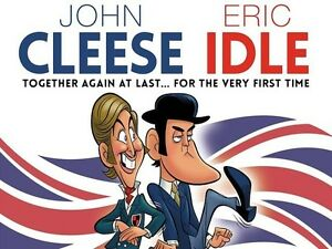 Tomorrow: John Cleese & Eric Idle ORCHESTRA Tickets