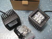 2 Brand New 18W LED Spot Beam LED Cubes