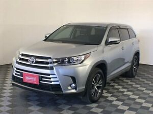 2017 Toyota Kluger GSU50R GX 2WD Silver 8 Speed Sports Automatic Wagon Arndell Park Blacktown Area Preview