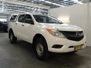2012 Mazda BT-50 XT (4x2) XT (4x2) White 6 Speed Manual Cab Chassis Beresfield Newcastle Area Preview