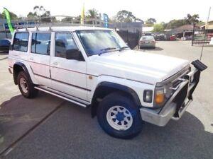 1996 Nissan Patrol RX (4x4) White 4 Speed Automatic 4x4 Wagon Pooraka Salisbury Area Preview