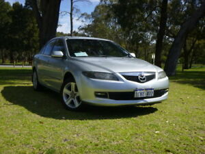 2006 Mazda 6 GG1032 Limited Silver 5 Speed Sports Automatic Sedan Rockingham Rockingham Area Preview