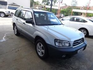 2005 Subaru Forester MY05 X Silver 4 Speed Automatic Wagon Sylvania Sutherland Area Preview